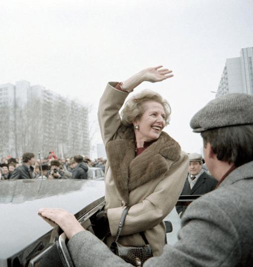 Маргарет Тэтчер в Крылатском